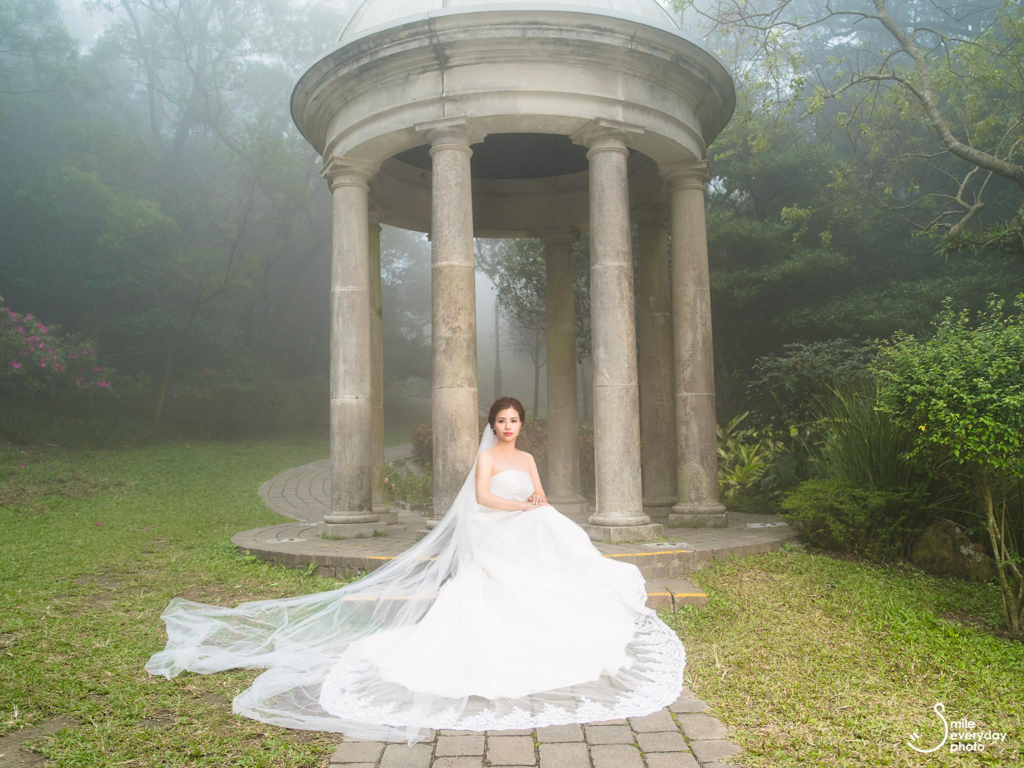 香港山頂公園婚紗相