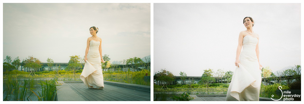 Kai Tak Cruise Terminal wedding photo