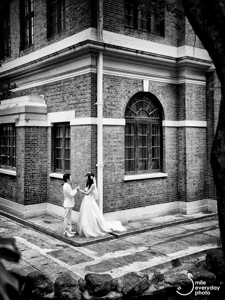 Hong Kong University Wedding Photo