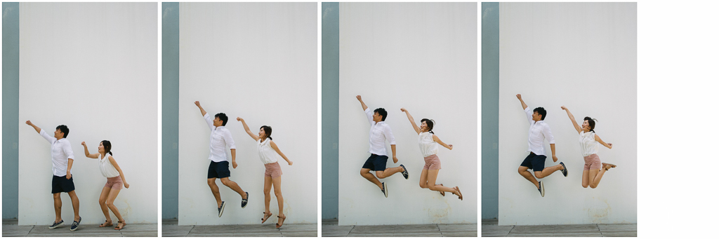 Love Is Funny Engagement Photo Ideas